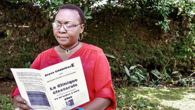 Le combat de «Maman Parité» , éditrice responsable de «Debout Congolaises !»
