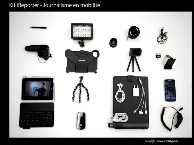 Le journalisme mobile