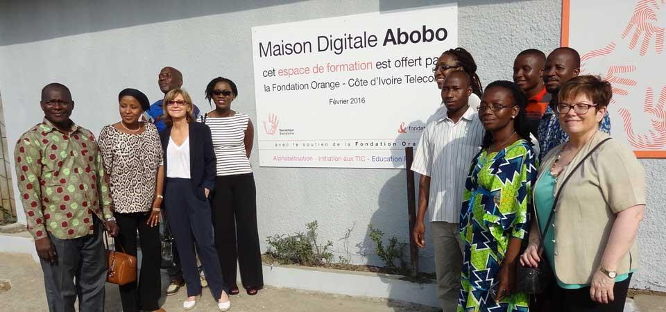 Des «maisons digitales» pour les femmes en RDCavec la Fondation Orange