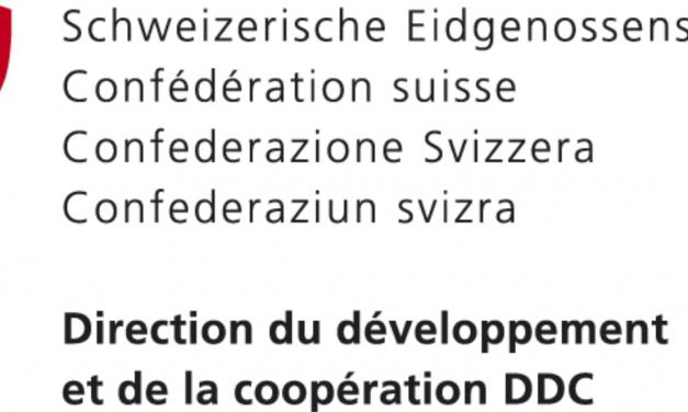 La coopération suisse apporte un soutien financier à Debout Congolaises ! ET VOUS ?