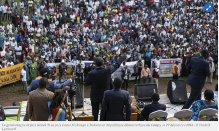 Voici le courageux discours du Dr. Mukwege, à son retour à Bukavu