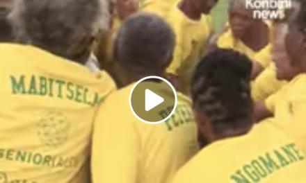 Regardez des grand-mères (africaines…) jouer au foot !
