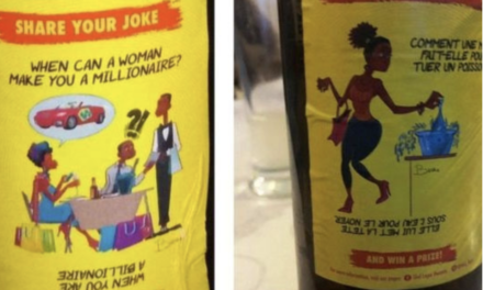 Skol présente ses excuses pour avoir imprimé des plaisanteries sexistes sur ses étiquettes de bière..
