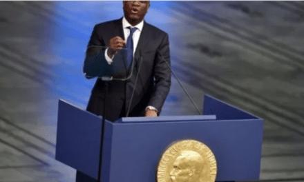 Un magnifique discours de Denis Mukwege sur la culture de la paix et l'importance du Rapport Mapping