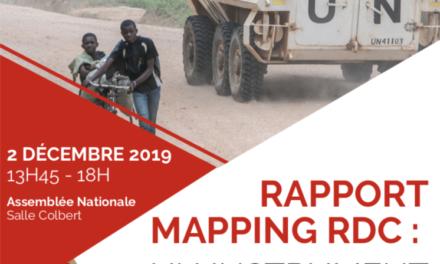 RAPPORT MAPPING RDC : UN INSTRUMENT POUR LA FIN DE L'IMPUNITÉ ?
