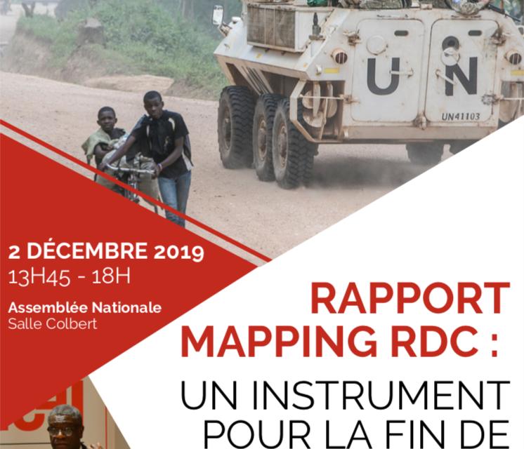 RAPPORT MAPPING RDC : UN INSTRUMENT POUR LA FIN DE L'IMPUNITÉ?