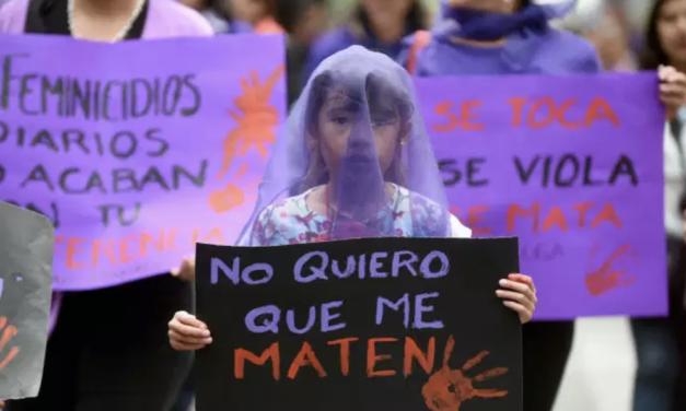 Au Mexique, les femmes manifestent contre une vague de crimes machistes