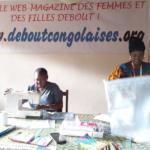 Debout Congolaises pour fabriquer et porter un masque citoyen !
