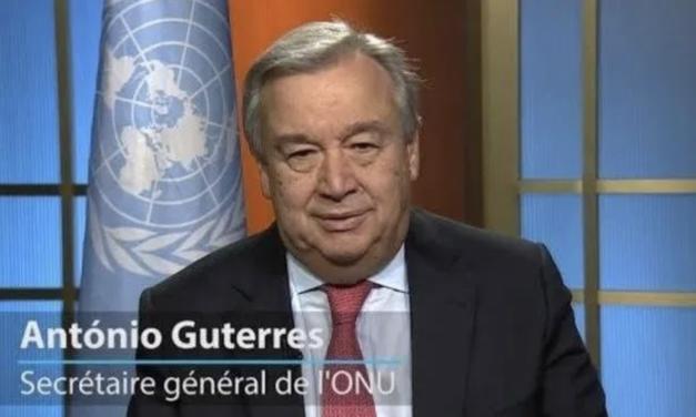 Placer les femmes au cœur de la lutte contre l'épidémie de COVID-19 (M.António Guterres)