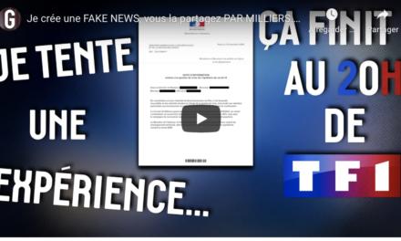 VIDÉO. «Je crée une fake news, vous la partagez par milliers» : une expérience spectaculaire